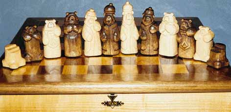 chess set two